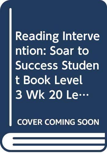 Houghton Mifflin Reading Intervention : Soar to: HOUGHTON MIFFLIN
