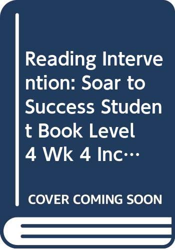 9780618932870: Soar to Success: Soar To Success Student Book Level 4 Wk 4 Incredible Sharks