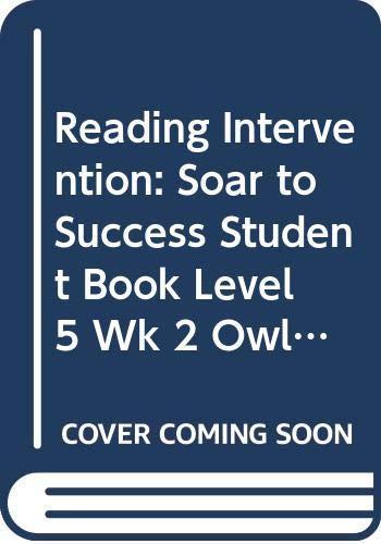 9780618933150: Soar to Success: Soar To Success Student Book Level 5 Wk 2 Owlbert