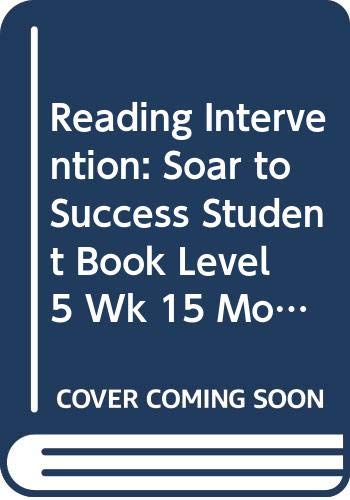 9780618933327: Soar to Success: Soar To Success Student Book Level 5 Wk 15 Mountain Gorillas in Danger