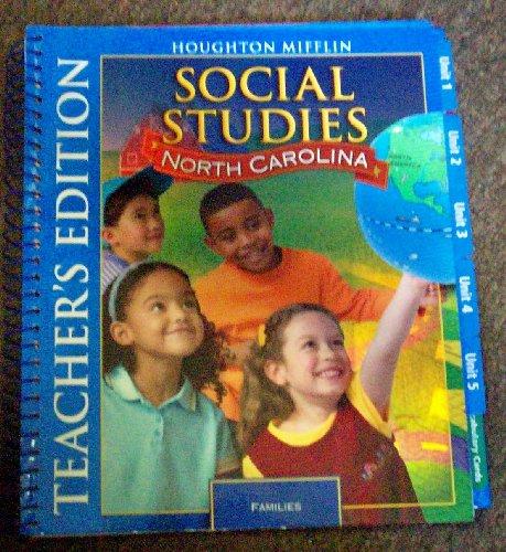 9780618937462: Social Studies North Carolina (Families)