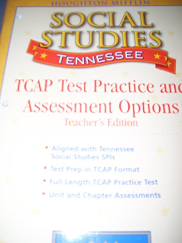 Social Studies, Grade 4, United States-The Early Years: Tennessee Teacher's TCAP Practice And ...