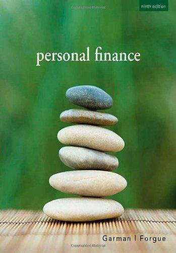 9780618938735: Personal Finance