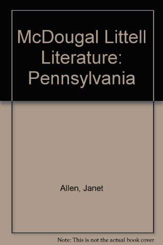 9780618944286: McDougal Littell Literature Pennsylvania: Student's Edition Grade 10 2008