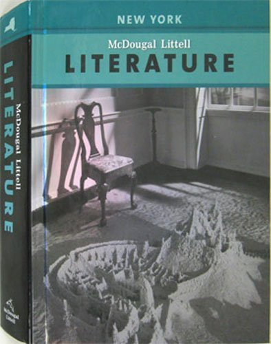 McDougal Littell Literature New York: Student Edition Grade 8 2008 (0618944338) by Carol Booth Olson; Judith A. Langer; Robert Marzano; Mary Lou McCloskey; Donna Ogle; Aurthur Applebee; Jim Burke; Douglas Carnie; Yvette Jackson;...
