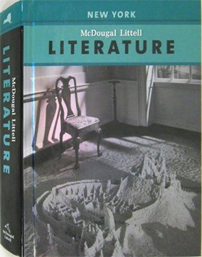 McDougal Littell Literature New York: Student Edition Grade 8 2008 (0618944338) by Aurthur Applebee; Carol Booth Olson; Donna Ogle; Douglas Carnie; Jim Burke; Judith A. Langer; Mary Lou McCloskey; Robert Jimenez; Robert Marzano;...