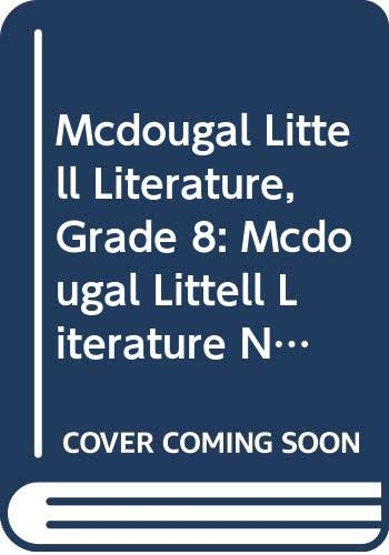 9780618944361: McDougal Littell Literature New Jersey: Student's Edition Grade 08 2008