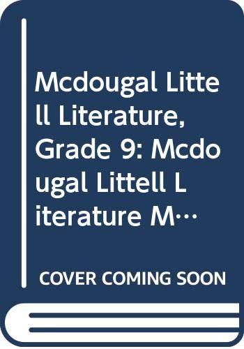 9780618944460: McDougal Littell Literature Missouri: Student's Edition Grade 09 2008