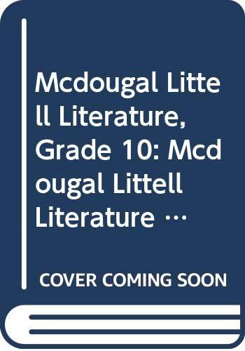 9780618945344: McDougal Littell Literature: Student Edition Grade 10 2008