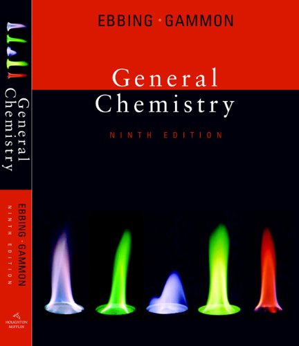 Study Guide for Ebbing/Gammon's General Chemistry, 9th (0618945911) by Darrell Ebbing; Steven D. Gammon