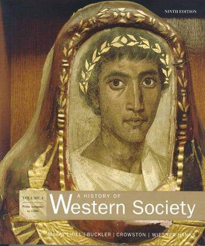 9780618946341: A History of Western Society, Volume A (Chapters 1-13 v)