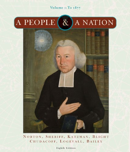 9780618947164: A People and a Nation: Volume I to 1877