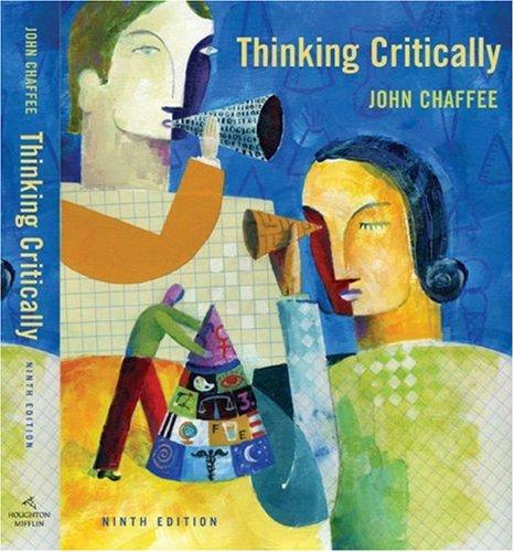 9780618947195: Thinking Critically