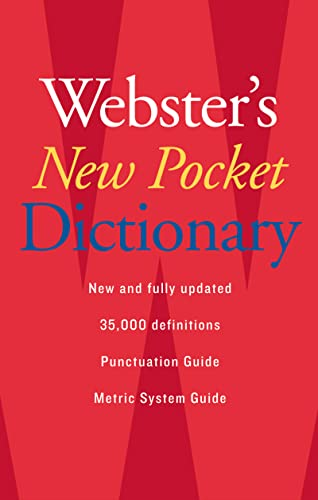 9780618947263: Webster's New Pocket Dictionary