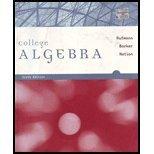 9780618948314: College Algebra >CUSTOM<