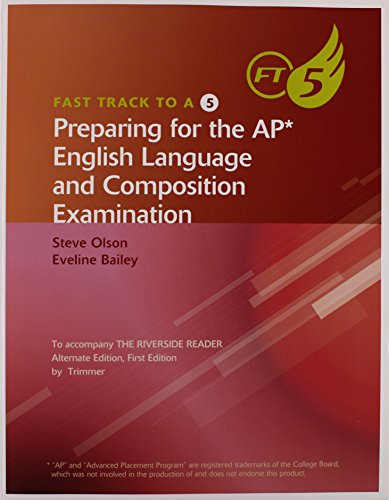 9780618948895: Fast Track to 5 for Trimmer's The Riverside Reader, Alternate Version