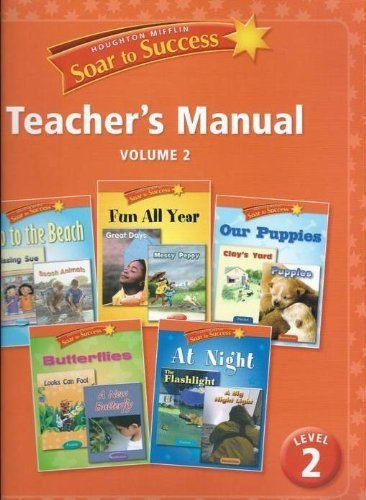 9780618949212: Houghton Mifflin Soar to Success Teacher's Manual Level 2 (Volume 2)