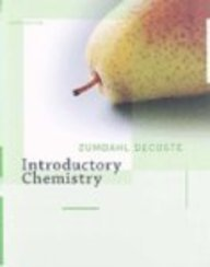 9780618949755: Introductory Chemistry