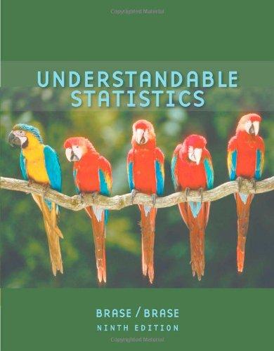 9780618949922: Understandable Statistics