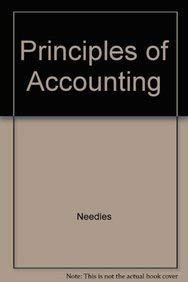 Needles Principles Of Accounting Plus Your Guide To An A Passkey Tenthedition (0618949968) by Needles; Powers; Crosson