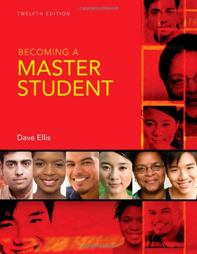 9780618950034: Becoming A Master Student, 12th edition