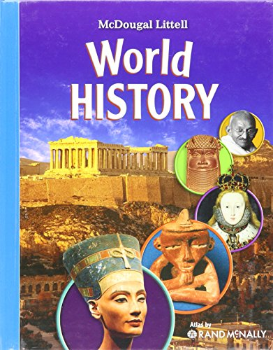 9780618950355: McDougal Littell Middle School World History: Student Edition 2009
