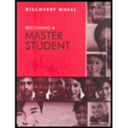 9780618950461: Ellis Becoming A Master Student Discovery Wheel Twelfth Edition