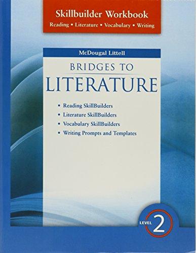9780618951710: Bridges to Literature: Skillbuilder Workbook Level 2 Level II