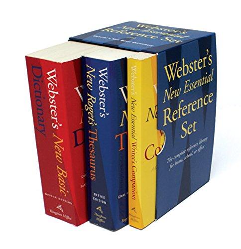 9780618952373: Webster's New Essential Reference Set