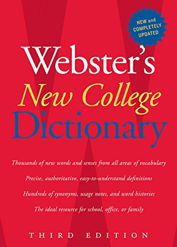 9780618953158: Webster's New College Dictionary, Third Edition
