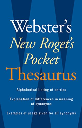 9780618953202: Webster's New Roget's Pocket Thesaurus