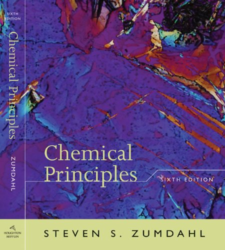 9780618953363: Student Solutions Manual to accompany Zumdahl's Chemical Principles