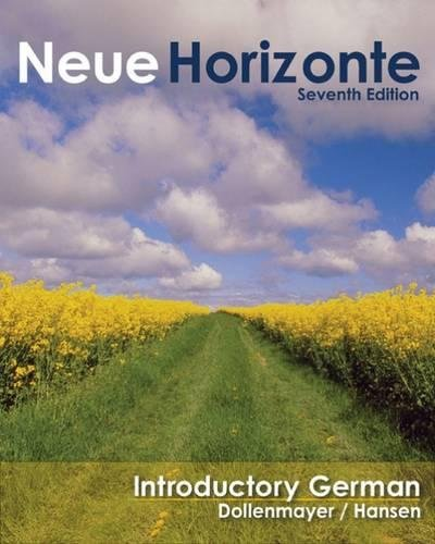9780618954797: Neue Horizonte: Introductory German (World Languages)