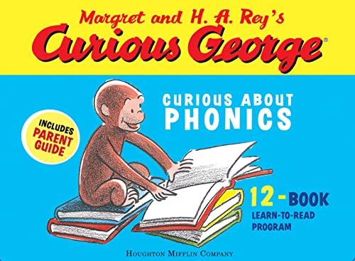 9780618956708: Curious George Curious About Phonics 12-Book Set