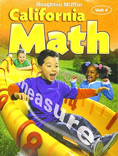 9780618957361: Houghton Mifflin California Math (Unit 4)