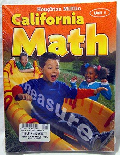 9780618957446: Houghton Mifflin Mathmatics California: Student Edition, Multi-Volume Set Level 2 2009