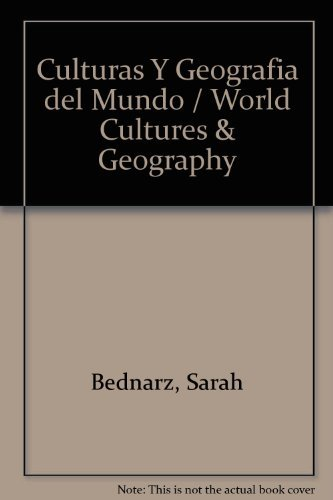 9780618958375: McDougal Littell Middle School World Cultures and Geography: Student Edition, Spanish 2008 (Spanish Edition)