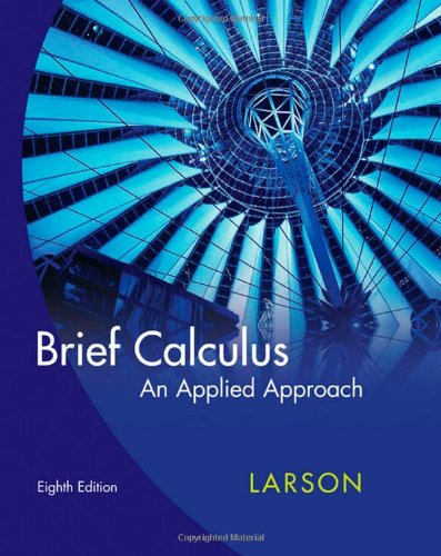 9780618958474: Brief Calculus: An Applied Approach
