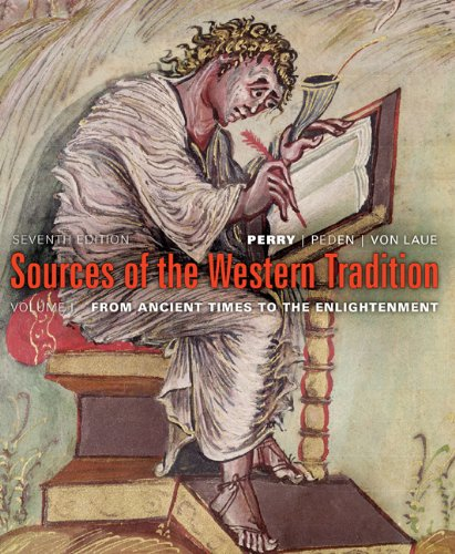 9780618958559: Sources Of the Western Tradition Volume One Seventh Edition