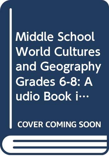 9780618961245: McDougal Littell Middle School World Cultures and Geography: Audio Book in Spanish (Spanish Edition)