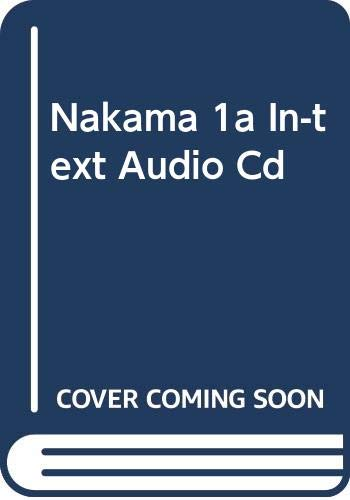 9780618966196: In-Text Audio CD for Hatasa/Hatasa/Makino's Nakama 1A, 2nd