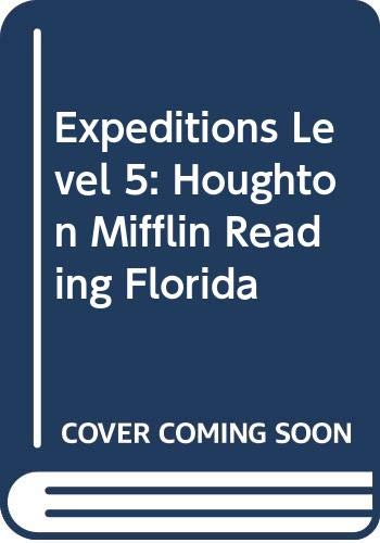 9780618966974: Houghton Mifflin Reading Florida: Student Edition Level 5 Expeditions 2009