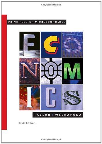 Principles of Microeconomics (Available Titles Aplia): Taylor, John B.,
