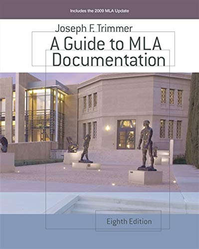9780618967896: A Guide to MLA Documentation