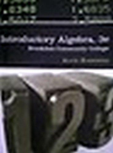 9780618969227: Introductory Algebra: Brookdale Community College