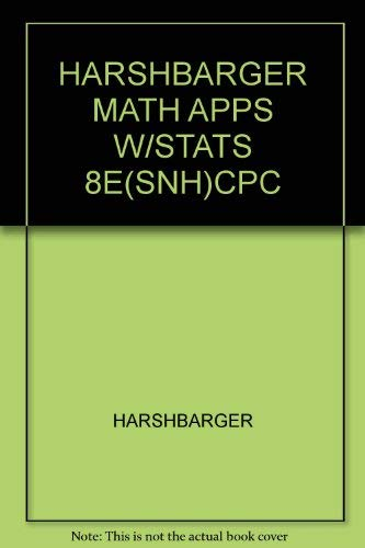 Applied Finite Mathematics (Southern New Hampshire University, Math 130): Harshbager, Ronald J.