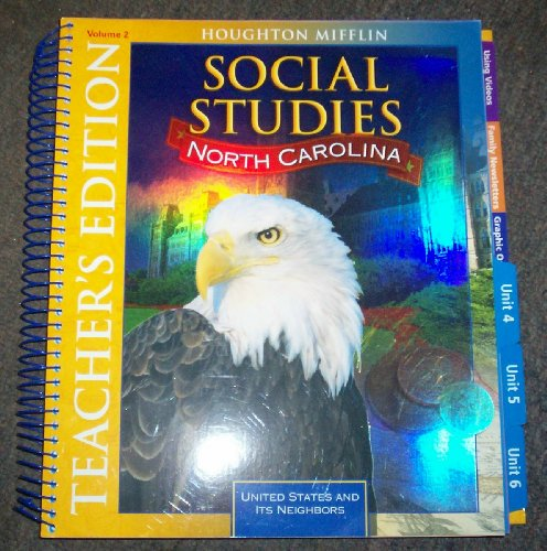 9780618972845: Social studies North Carolina (Volume 2)