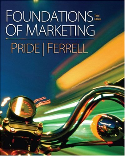 9780618973378: Foundations of Marketing