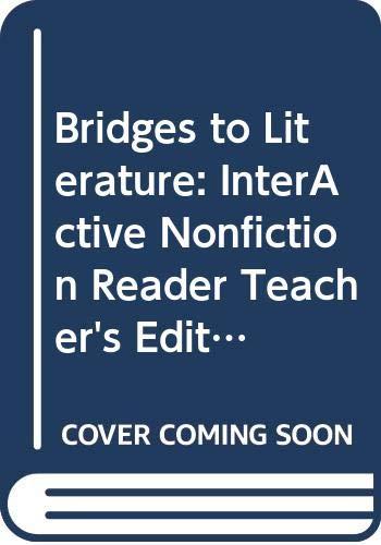 9780618977826: Bridges to Literature: InterActive Nonfiction Reader Teacher's Edition Level 3 Level III