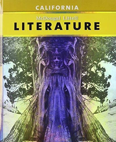 9780618983520: Literature Grade 6: Mcdougal Littell Literature California